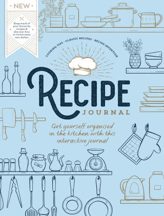 Recipe Journal First Edition