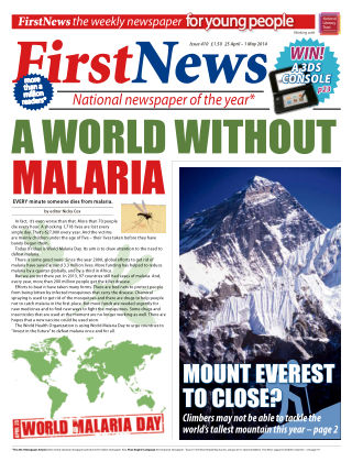 First News 25th April 2014