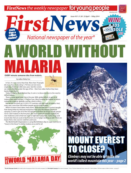 First News April 25, 2014 00:00