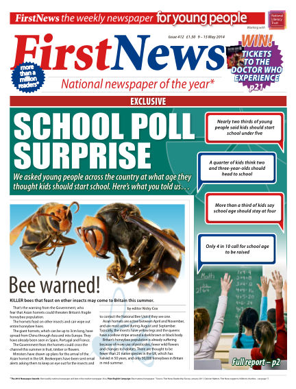 First News May 09, 2014 00:00
