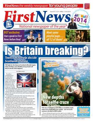 First News 30th May 2014