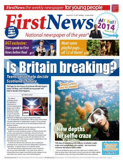 First News May 30, 2014 00:00