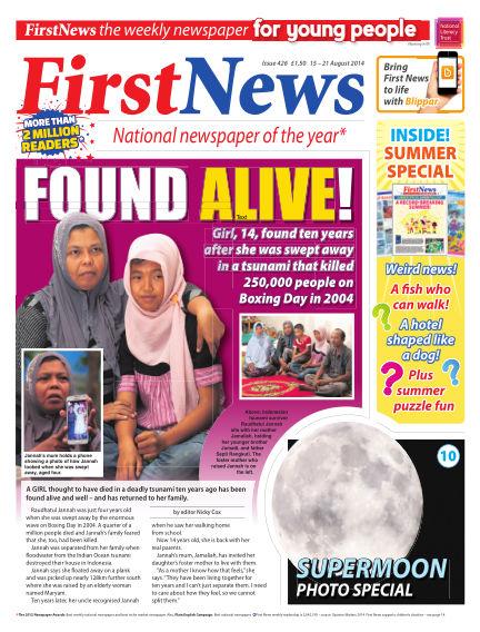 First News August 15, 2014 00:00