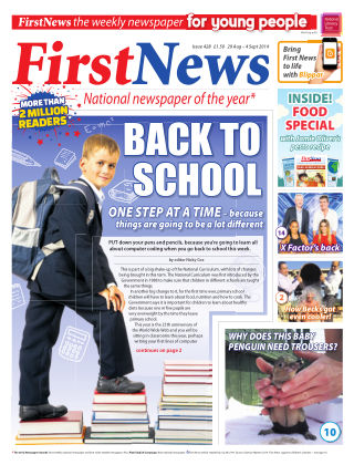 First News 29th August 2014