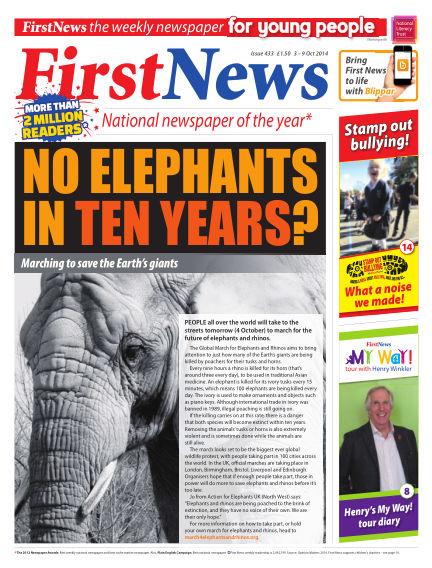 First News October 03, 2014 00:00