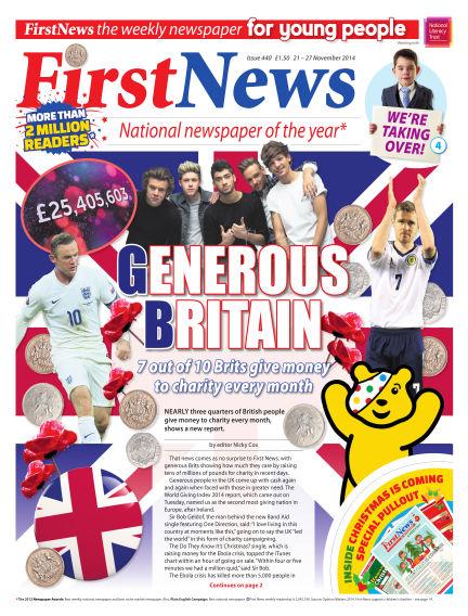 First News November 21, 2014 00:00