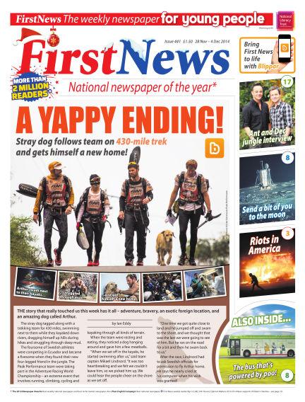 First News November 28, 2014 00:00