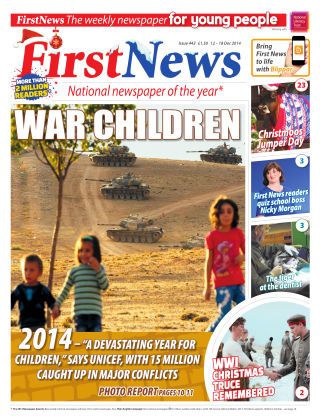 First News 12th December 2014