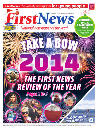 First News 19th December 2014