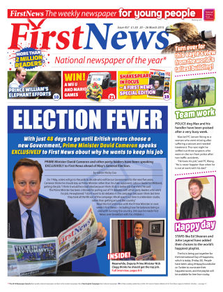 First News 20th March 2015