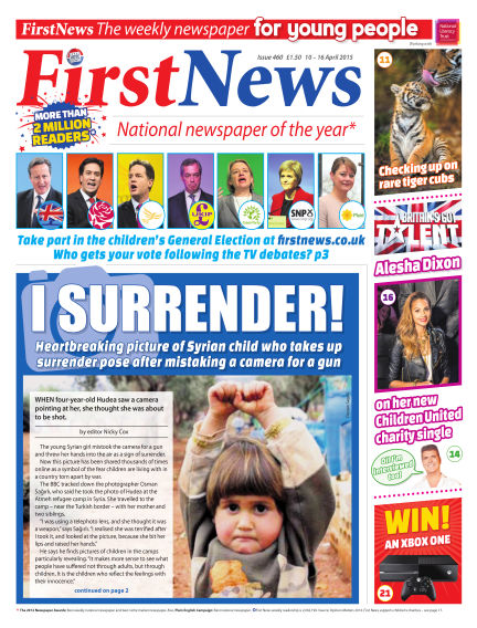 First News April 10, 2015 00:00