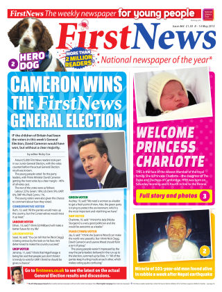 First News 8th May 2015