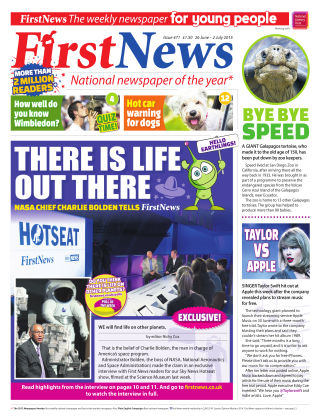 First News 26th June 2015