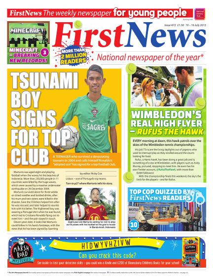 First News July 10, 2015 00:00