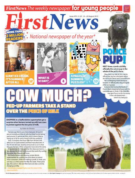 First News August 14, 2015 00:00