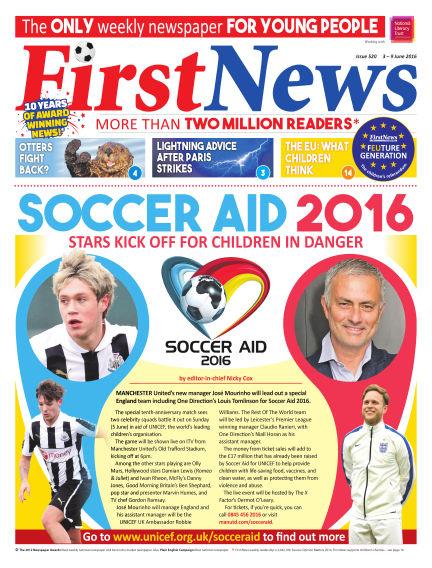 First News June 03, 2016 00:00