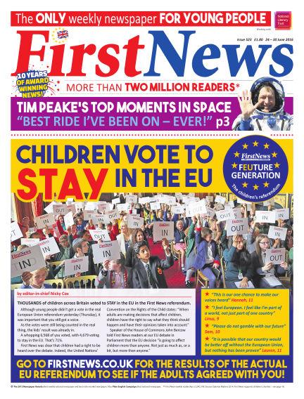 First News June 24, 2016 00:00
