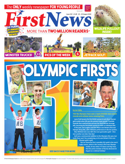 First News August 19, 2016 00:00