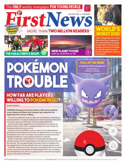 First News September 02, 2016 00:00
