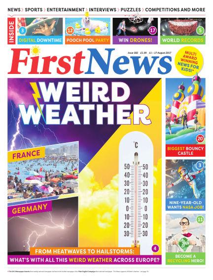 First News August 11, 2017 00:00