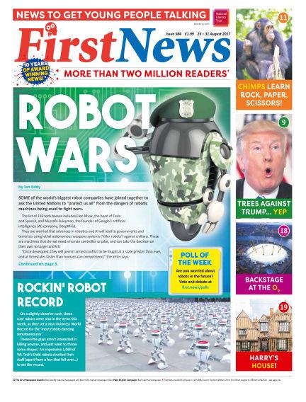 First News August 25, 2017 00:00