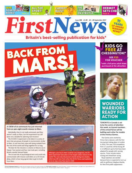 First News September 22, 2017 00:00
