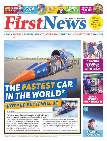 First News October 20, 2017 00:00