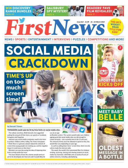 First News March 16, 2018 00:00