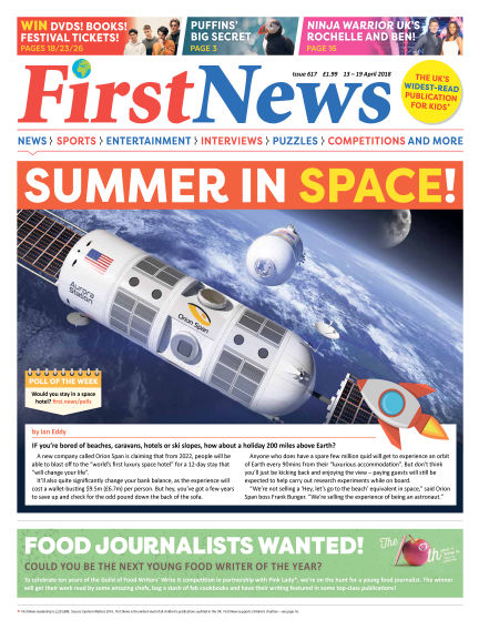 First News April 13, 2018 00:00