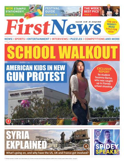 First News April 20, 2018 00:00