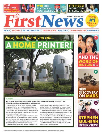 First News June 15, 2018 00:00