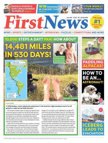 First News July 20, 2018 00:00