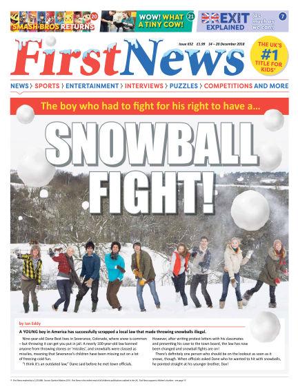 First News December 14, 2018 00:00