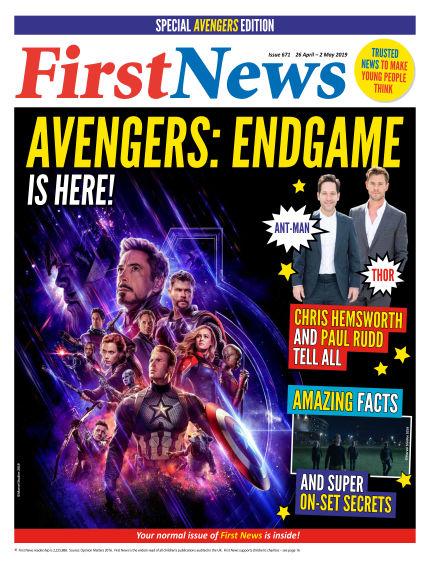 First News April 25, 2019 00:00
