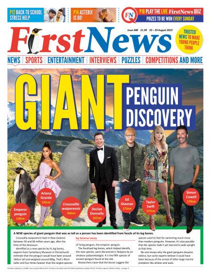 First News August 22, 2019 00:00