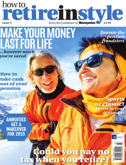 How to Retire in Style October 08, 2015 00:00