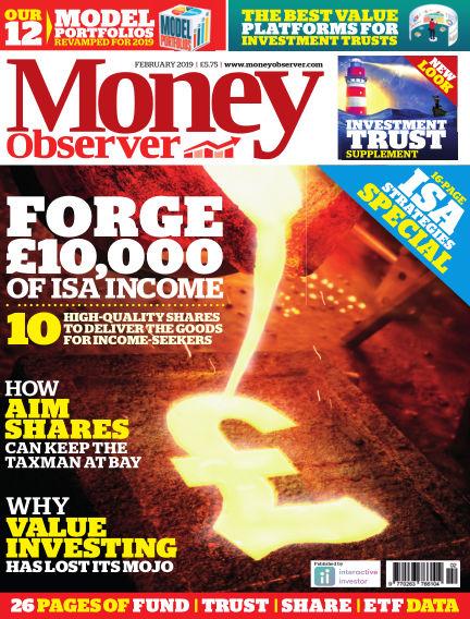 Money Observer January 24, 2019 00:00