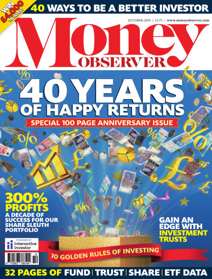 Money Observer September 26, 2019 00:00