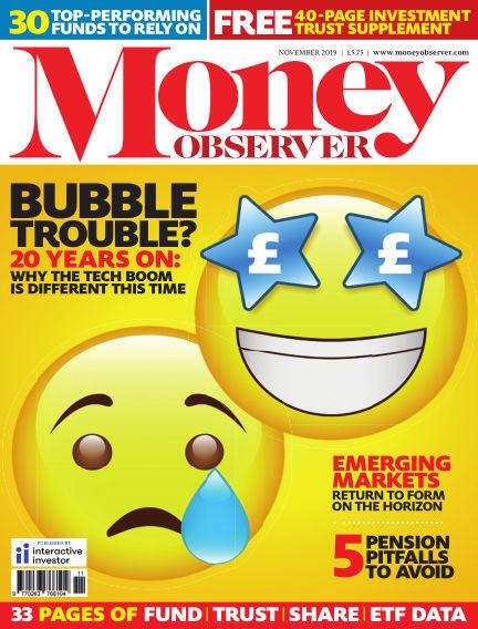 Money Observer October 21, 2019 00:00