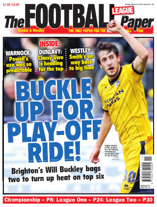 The Football League Paper Issue No. 197