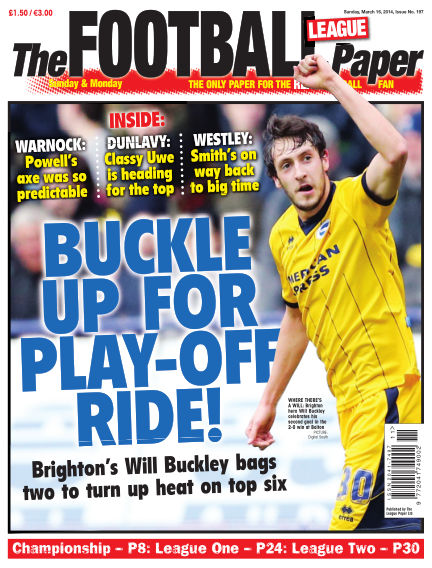 The Football League Paper March 16, 2014 00:00