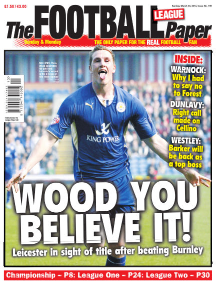 The Football League Paper March 30, 2014 00:00