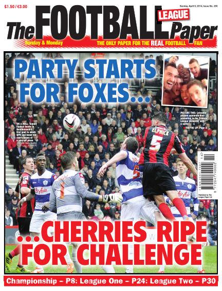 The Football League Paper April 06, 2014 00:00