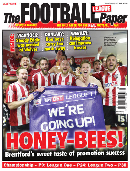 The Football League Paper April 20, 2014 00:00