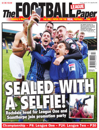 The Football League Paper Issue No. 203
