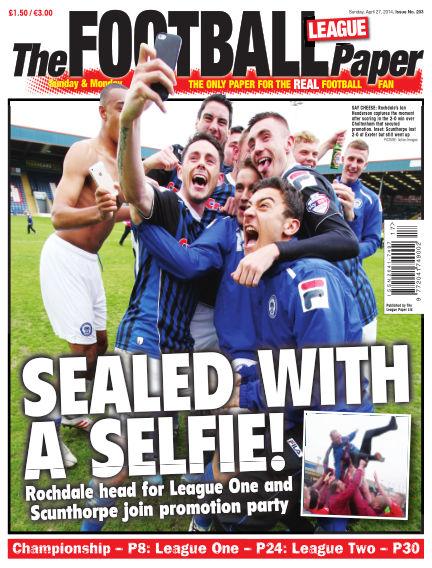 The Football League Paper April 27, 2014 00:00
