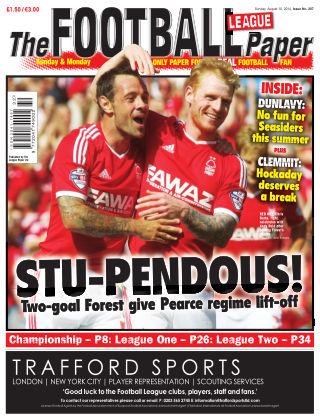 The Football League Paper 10th August 2014