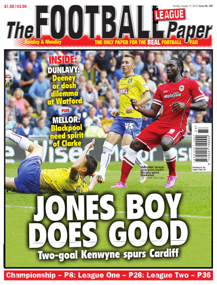 The Football League Paper August 17, 2014 00:00