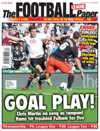 The Football League Paper 24th August 2014
