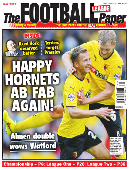 The Football League Paper August 31, 2014 00:00